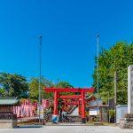 Sanko Inari Shrine at Inuyama Castle in Aichi Prefecture_553316770