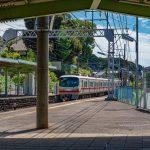 Inuyama Yuen Station of Nagoya Railroad Inuyama Line in Aichi_550762432