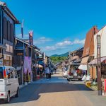 old town of Inuyama City in Aichi_550730878