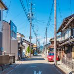 old town of Inuyama City in Aichi Prefecture_550730890