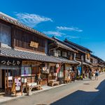The old town of Inuyama City in Aichi _550444471