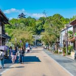The old town of Inuyama City in Aichi _550444438