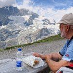 Grossglockner in background and Pasterze glacier_581348590