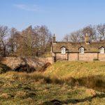 Traditional cottage on Lyme Park _581349370
