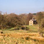 Traditional cottage on Lyme Park_581349388