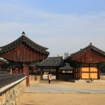 Royal Tomb of King Gimsuro in Gimhae, Korea_412749199