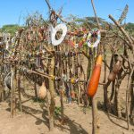 Central part of Maasai village_575894563