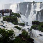 Tourists at Iguassu Falls_586090058