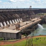East side of Itaupu Dam on Paraguayan side_571137922