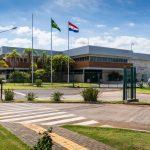 Visitor Reception Center of Itaipu Dam complex. _566796847