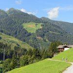 Zillertal valley landscape in Tirol_579147319