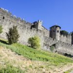 Towers and walls of the Cite de Carcassonne_584945857