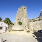 Towers and walls of the Cite de Carcassonne_584942641