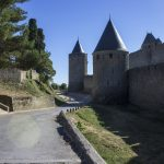 Towers and walls of the Cite de Carcassonne_584942542