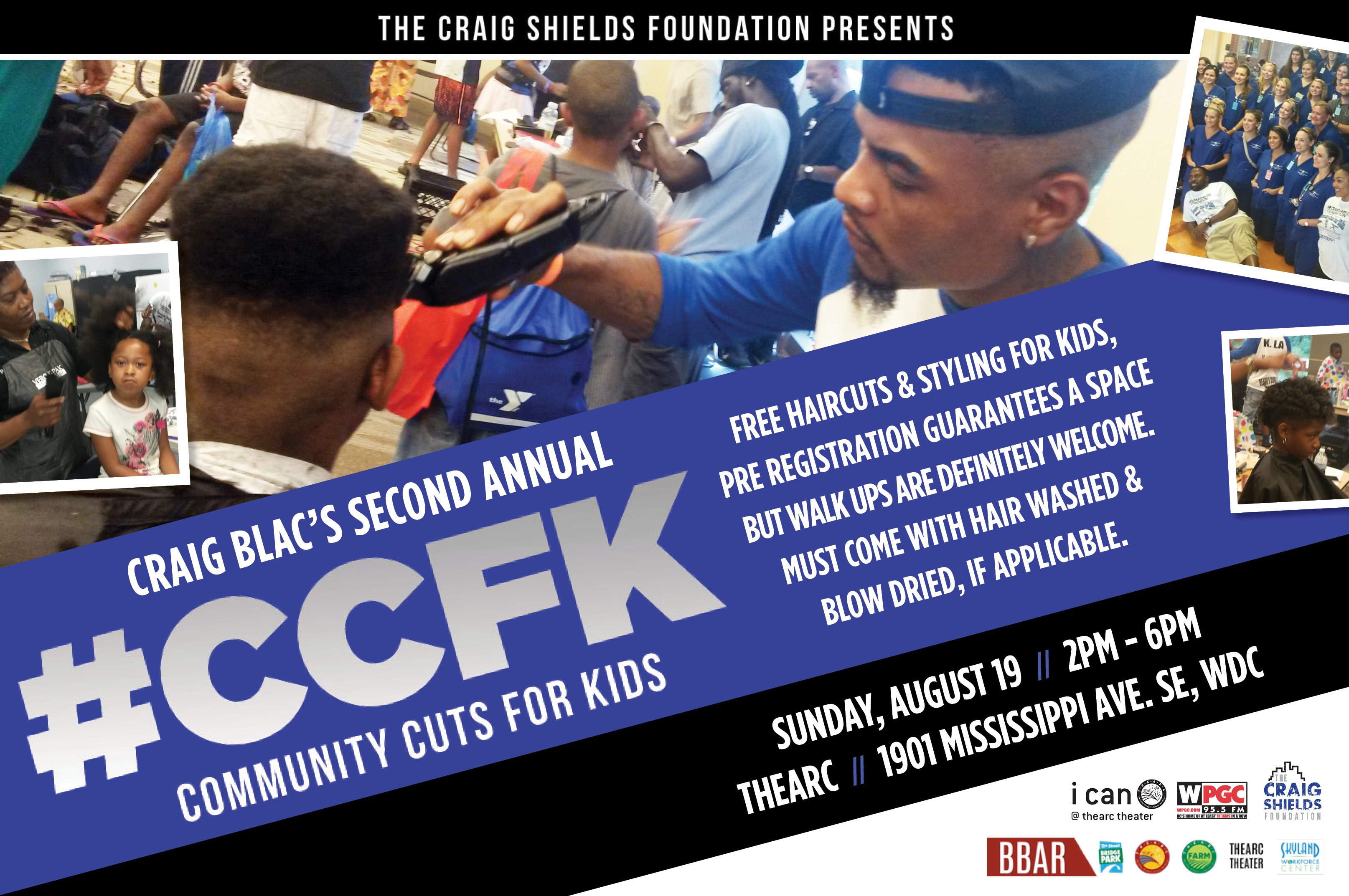 Wpgc Presents Community Cuts For Kids Wpgc