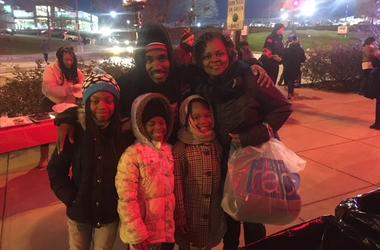 Shout Out To The Entire DMV for supporting Coat Drive 95