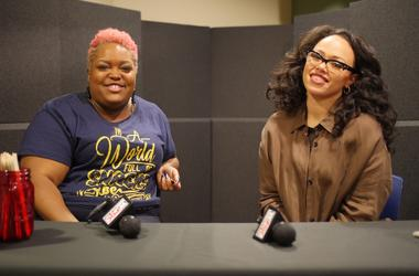 Elle Varner and Poet chat on Women Crushing It Wednesday.