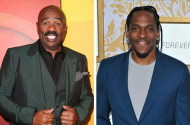 Steve Harvey And Pusha T