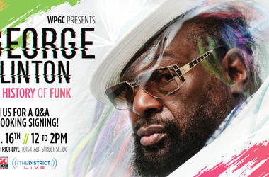 George Clinton at WPGC