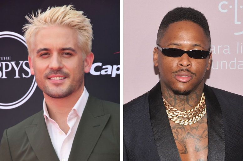 G-Eazy. The 2018 ESPYS held at the Microsoft Theater. Musician YG attends Rihanna's 4th Annual Diamond Ball at Cipriani Wall Street in New York, NY on September 13, 2018.