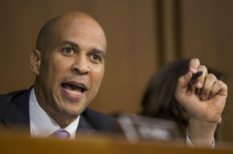 Corey Booker introduced new bill to the senate looking into reparations.