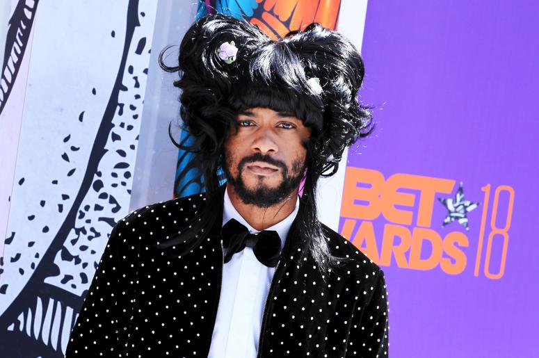 Lakeith Stanfield attends the 2018 BET Awards