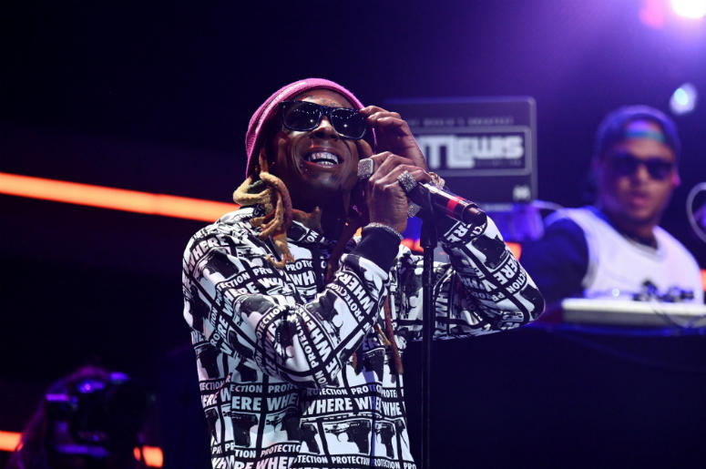Lil Wayne performs onstage during the 4th Annual TIDAL X: Brooklyn at Barclays Center