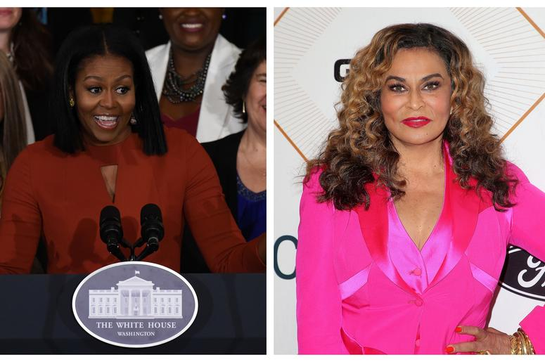 Michelle Obama tINA lawson