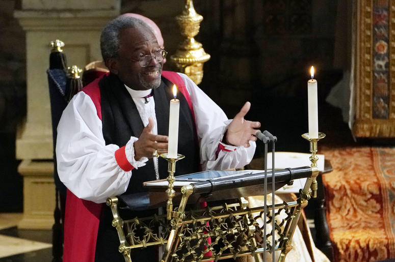 Bishop Michael Curry royal wedding sermon