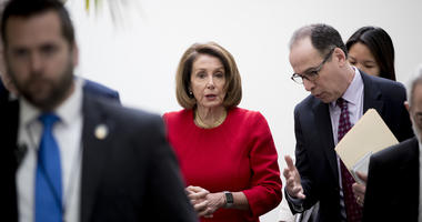 The Latest: Trump not surprised by Pelosi's delay of speech