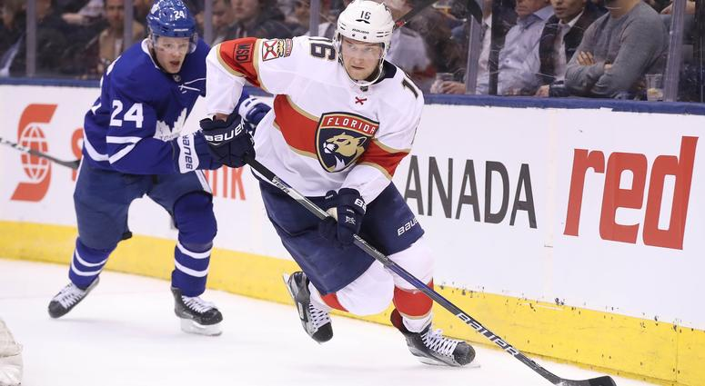 Captain Barkov Is Ready To Lead The Florida Panthers