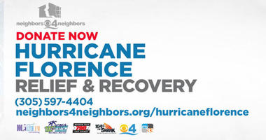 Donate Now: Hurricane Florence Relief & Recovery