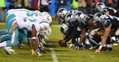 Miami Dolphins vs Carolina Panthers
