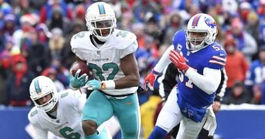 Omar Kelly: Kenyan Drake Can Put Up Ajayi Numbers