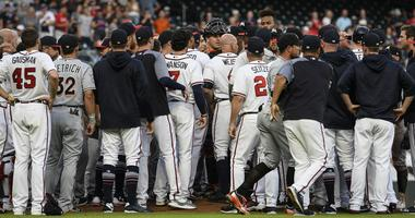 Marlins' Urena Drills Acuna - Triggers Bench Clearing Brawl Against Braves