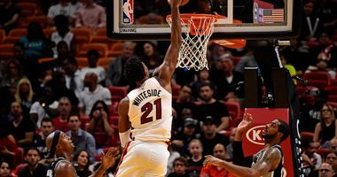 Whiteside Dominates, Heat Beat Spurs 95-88