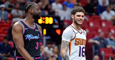 Donno and Friedo Show: Spoelstra Sees 'A Lot of Good Things' after Heat's Loss to Suns. Also, Wade's New Look