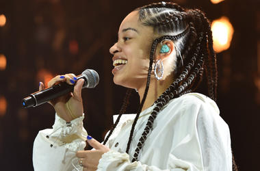 Ella Mai performing at BBC 1Xtra Live, at the O2 Arena in London. PRESS ASSOCIATION Photo. Picture date: Saturday September 22nd, 2018.