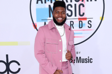 Khalid at the American Music Awards