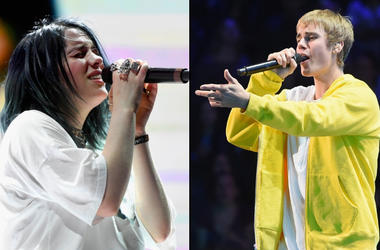 Billie Eilish x Justin Bieber