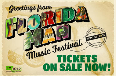 Florida Man Music Festival On-Sale