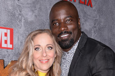 Iva Colter and Mike Colter