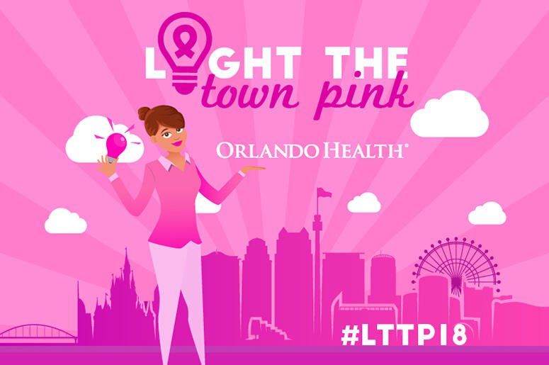 Light the Town Pink