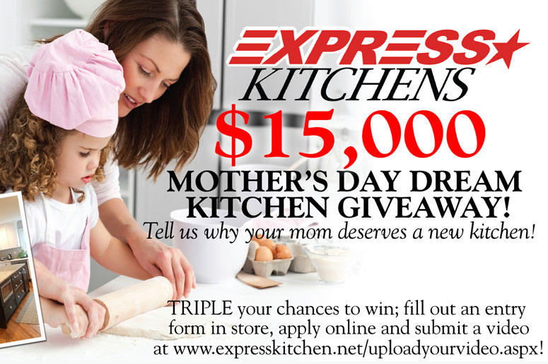 Win A Dream Kitchen From Express Kitchens