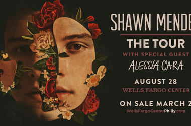 Shawn Mendes with Alessia Cara at the Wells Fargo Center Philly on August 20th 2019 win tickets on 965 try