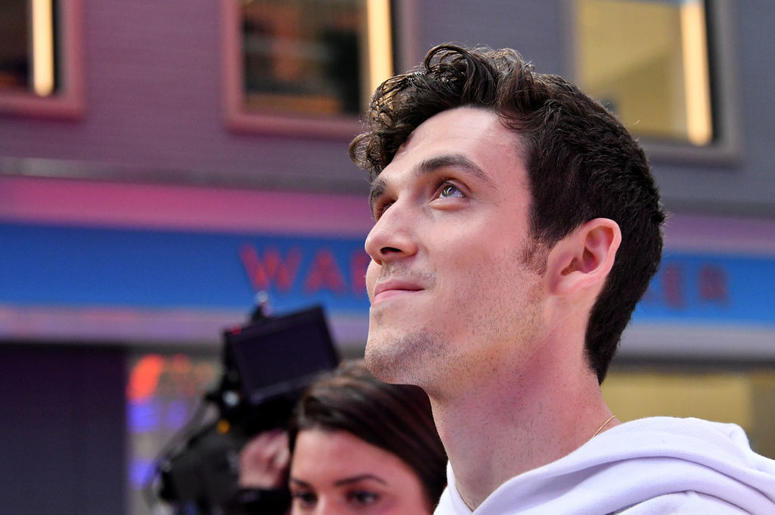 NEW YORK, NY - AUGUST 20: Lauv attends the 2018 MTV Video Music Awards at Radio City Music Hall on August 20, 2018 in New York City.