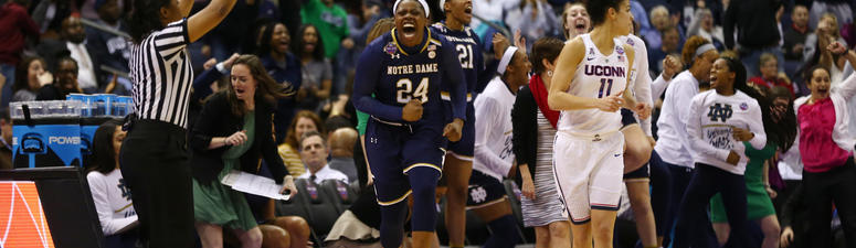 UConn Women Fall to Notre Dame in Final Four
