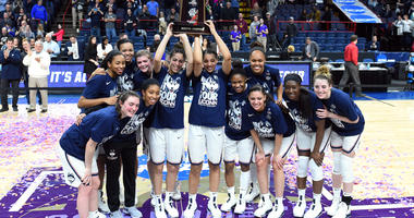 UConn Routs South Carolina 94-65, Heads back to Final Four