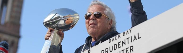 Patriots Owner Bob Kraft Charged In Prostitution Sting