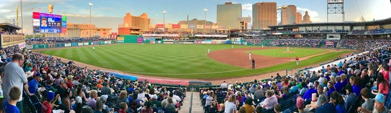 Dunkin Donuts Park Tops In Double A